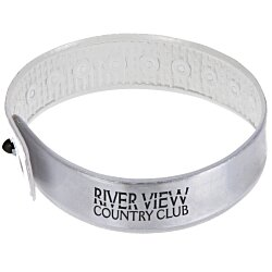 View a larger, more detailed picture of the Reflective Wristag Wristlet Band