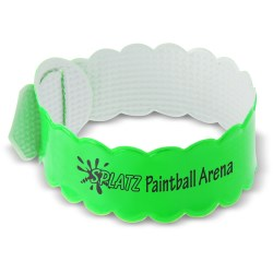 View a larger, more detailed picture of the Reflective Bumpy-Wristlet Band