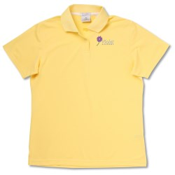 View a larger, more detailed picture of the Jockey Ultimate Wicking Pique Polo - Ladies