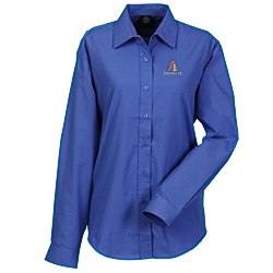 View a larger, more detailed picture of the Broadcloth Value Shirt - Ladies
