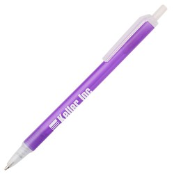 View a larger, more detailed picture of the Value Click Pen - Translucent