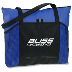 View a larger, more detailed picture of the Solutions Zippered Tote - 24 hr