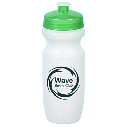 View a larger, more detailed picture of the Move-It Bike Bottle - 20 oz - Translucent