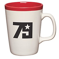 View a larger, more detailed picture of the Two-Tone Java Mug - 14 oz