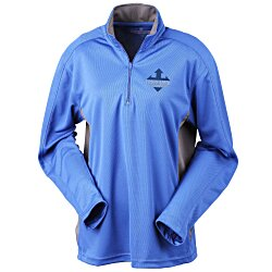 View a larger, more detailed picture of the Blue Generation Half-Zip Performance Pullover - Ladies