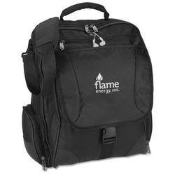 View a larger, more detailed picture of the Momentum Laptop Backpack Attache