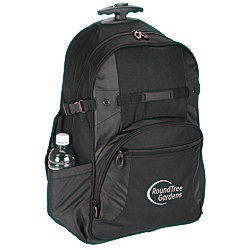 View a larger, more detailed picture of the Kenwood Wheeled Laptop Backpack - Screen