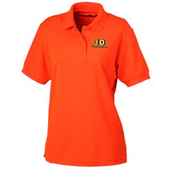 View a larger, more detailed picture of the Blue Generation High Visibility Pique Polo - Ladies