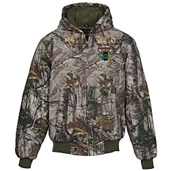 View a larger, more detailed picture of the DRI DUCK Cheyenne Hooded 12 oz Jacket - Camo