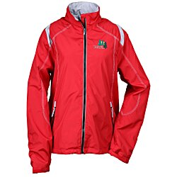 View a larger, more detailed picture of the North End Lightweight Colorblock Jacket - Ladies