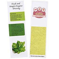 View a larger, more detailed picture of the Recipe Bookmarks - Oregano