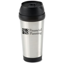 View a larger, more detailed picture of the Modern Stainless Tumbler - 15 oz - 24 hr