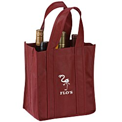 View a larger, more detailed picture of the Six Bottle Wine Tote