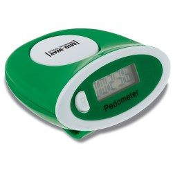 View a larger, more detailed picture of the Mod Stepper Pedometer - Colored - Closeout