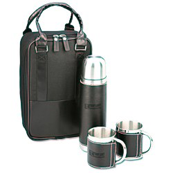 View a larger, more detailed picture of the Cinna Vacuum Bottle and Cup Travel Set