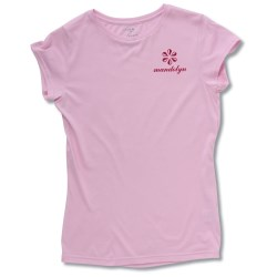 View a larger, more detailed picture of the Silky-Soft Fashion T-Shirt - Ladies