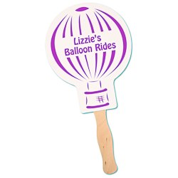 View a larger, more detailed picture of the Hand Fan - Balloon