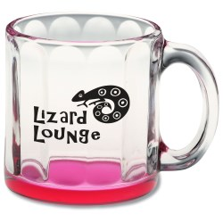 View a larger, more detailed picture of the Neonware Glass Mug - 13 oz