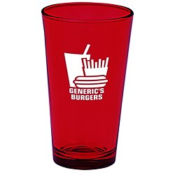 View a larger, more detailed picture of the Colored Pint Glass - 16 oz