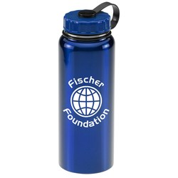 View a larger, more detailed picture of the Stainless Sport Bottle - 34 oz - Colors