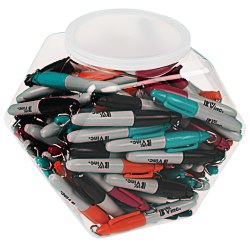 View a larger, more detailed picture of the Sharpie Mini Canister - Assorted Fashion Colors