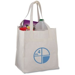 View a larger, more detailed picture of the Bamboo Rayon Grocery Tote - 15 x 13