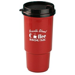 View a larger, more detailed picture of the Insulated Auto Tumbler- 16 oz - Metallic