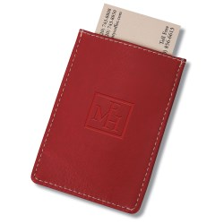 View a larger, more detailed picture of the Pull Tab Cardholder - Closeout Color
