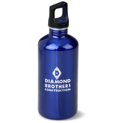 View a larger, more detailed picture of the h2go Classic Stainless Steel Sport Bottle - 20 oz - 24 hr