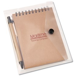 View a larger, more detailed picture of the Recycled Notebook Jotter Set