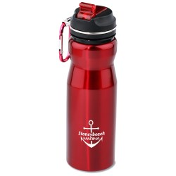 View a larger, more detailed picture of the Appalachian Stainless Sport Bottle - 24 oz