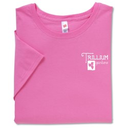 View a larger, more detailed picture of the Hanes Ladies Relaxed Fit T-Shirt - Colors