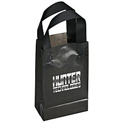 View a larger, more detailed picture of the Soft-Loop Frosted Shopper - 8 x 5 - Foil