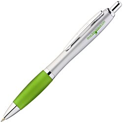 View a larger, more detailed picture of the Curvy Pen - Silver Fresh - Gel