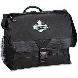 View a larger, more detailed picture of the Focus Laptop Messenger Bag - Screen