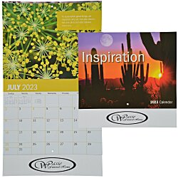 View a larger, more detailed picture of the Inspirational Calendar - Stapled - 24hr