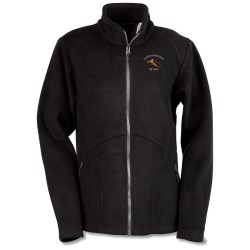 View a larger, more detailed picture of the North End Bonded Jacquard Fleece Jacket - Ladies