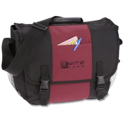 View a larger, more detailed picture of the 4imprint Messenger Bag - Screen