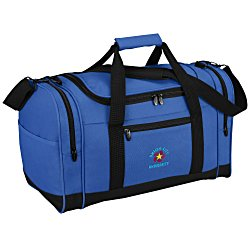 View a larger, more detailed picture of the 4imprint Leisure Duffel - Embroidered