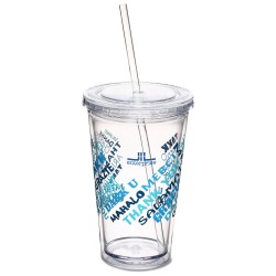 View a larger, more detailed picture of the Spirit Tumbler - 16 oz - Thanks