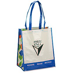 View a larger, more detailed picture of the Expressions Grocery Tote - Royal Blue