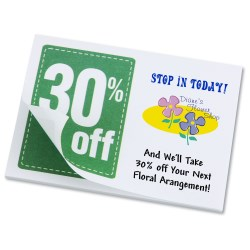 View a larger, more detailed picture of the Post-it&reg Discount Coupons - 3 x 4 - 25 Sheet - 30