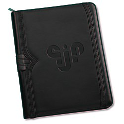 View a larger, more detailed picture of the Wingtip Zippered Padfolio