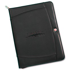 View a larger, more detailed picture of the Wenger Zippered Padfolio
