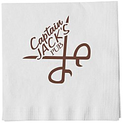 View a larger, more detailed picture of the Luncheon Napkin - 1-ply - White
