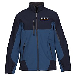 View a larger, more detailed picture of the North End Colorblock Soft Shell Jacket - Men s