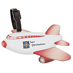 View a larger, more detailed picture of the Airplane Luggage Tag