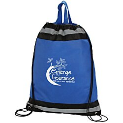 View a larger, more detailed picture of the Eagle Drawstring Backpack - 20 x 16