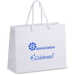 View a larger, more detailed picture of the Holiday Matte Eurotote - 8 x 10 - Celebrate