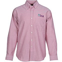 View a larger, more detailed picture of the Blue Generation Long Sleeve Oxford - Men s - Solid